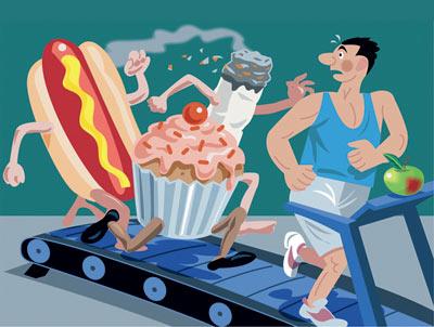 انواع روش های مبارزه با چاقی